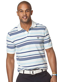 Chaps Wheaton Striped Pique Polo Shirt