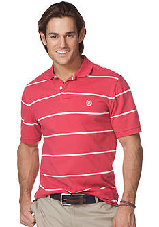 Chaps Waters Striped Pique Polo Shirt