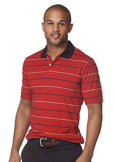 Chaps Striped Cotton Polo Shirt