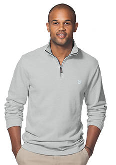 Chaps Jersey Mockneck Pullover