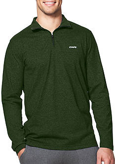 Chaps Jersey Mock Neck Pullover