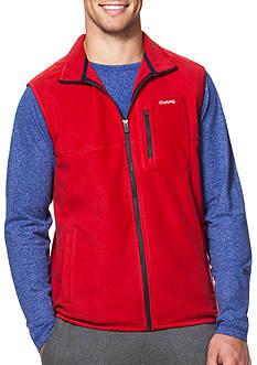 Chaps Fleece Mock Neck Vest