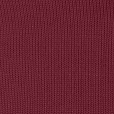 Mens Crew Neck Sweaters: Burgundy Wine Chaps Combed Cotton Sweater