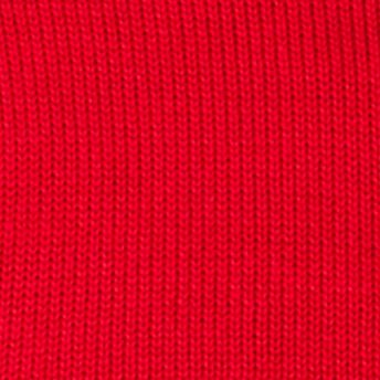 Mens Crew Neck Sweaters: Chaps Red Chaps Combed Cotton Sweater