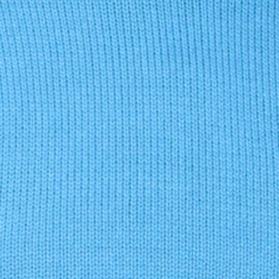 Mens Crew Neck Sweaters: Como Blue Chaps Combed Cotton Sweater