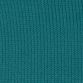 Mens Winter Sweaters: Dark Teal Chaps Combed Cotton Sweater