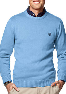 Chaps Combed Cotton Sweater