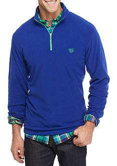 Chaps Mock Neck Fleece Pullover