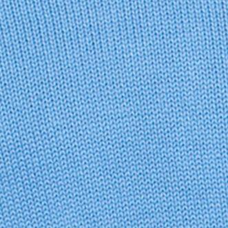 Chaps Men Sale: Golf Blue Chaps Combed Cotton V-Neck Sweater