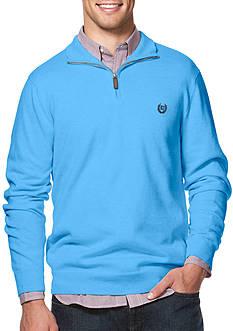 Chaps Cotton-Cashmere Mock Neck Sweater