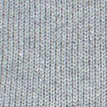 Mens Crew Neck Sweaters: Steel Heather Chaps Striped Crew Neck Sweater