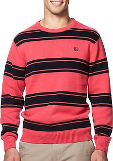 Chaps Striped Crew Neck Sweater
