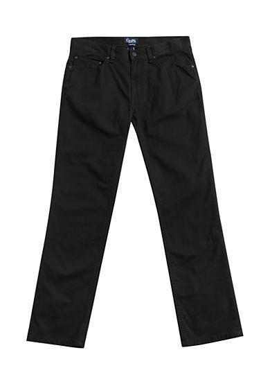 Chaps Straight-Fit 5-Pocket Pants