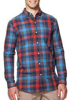 Chaps Double-Faced Checked Shirt