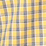 Chaps Men Sale: Southport Yellow Chaps Checked Poplin Shirt