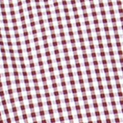 St Patricks Day Outfits For Men: Burgundy Wine Chaps Gingham Poplin Shirt