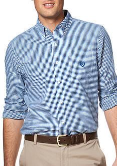 Chaps Gingham Poplin Shirt