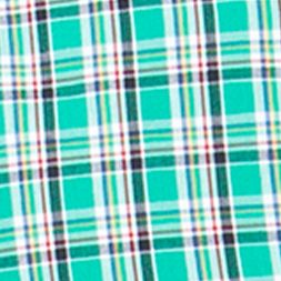 St Patricks Day Outfits For Men: Astro Green Chaps Plaid Poplin Shirt