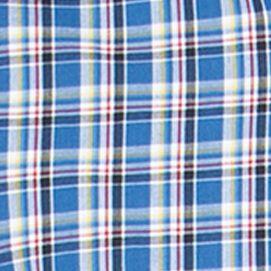 St Patricks Day Outfits For Men: Crayon Blue Chaps Plaid Poplin Shirt
