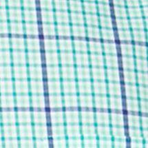 Chaps Men Sale: Reef Green Chaps Checked Poplin Shirt