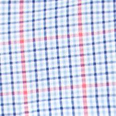 Chaps Men Sale: Graphic Royal Chaps Checked Poplin Shirt