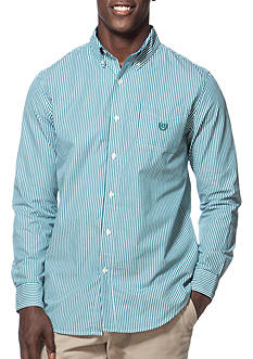 Chaps Striped Poplin Shirt
