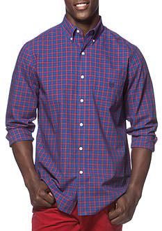Chaps Checked Poplin Shirt