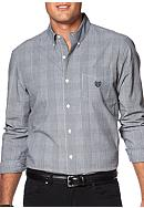 Chaps Glen Plaid Poplin Shirt