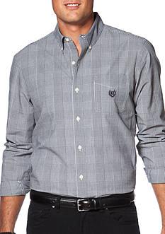 Chaps Glen Plaid Poplin Shirt