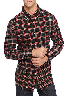 Chaps Checked Oxford Shirt