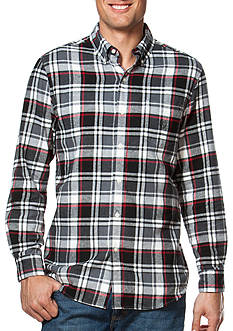Chaps Plaid Cotton Sport Shirt