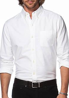 Chaps Stretch-Oxford Shirt