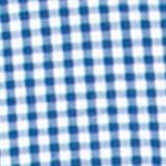 St Patricks Day Outfits For Men: Crayon Blue Chaps Gingham Stretch-Poplin Shirt