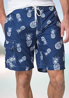 Chaps Printed Board Shorts
