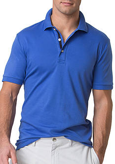 Chaps Cotton Interlock Polo Shirt
