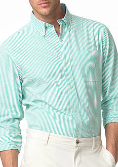 Chaps Striped Poplin Shirt