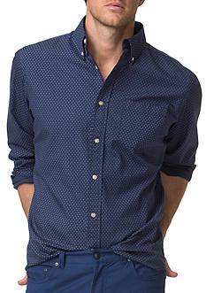 Chaps Printed Poplin Shirt