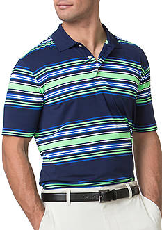 Chaps Striped Stretch Polo Shirt