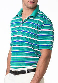 Chaps Striped Jersey Polo Shirt