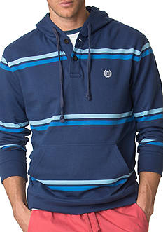 Chaps Striped Cotton Hoodie