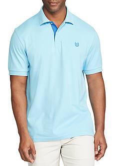 Chaps Short Sleeve Cotton Interlock Polo Shirt