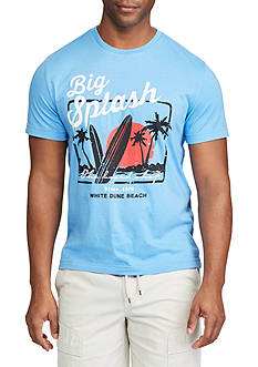 Chaps Short Sleeve Big Splash Graphic Tee