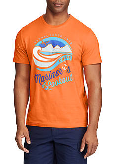 Chaps Short Sleeve Mariner's Lookout Graphic Tee