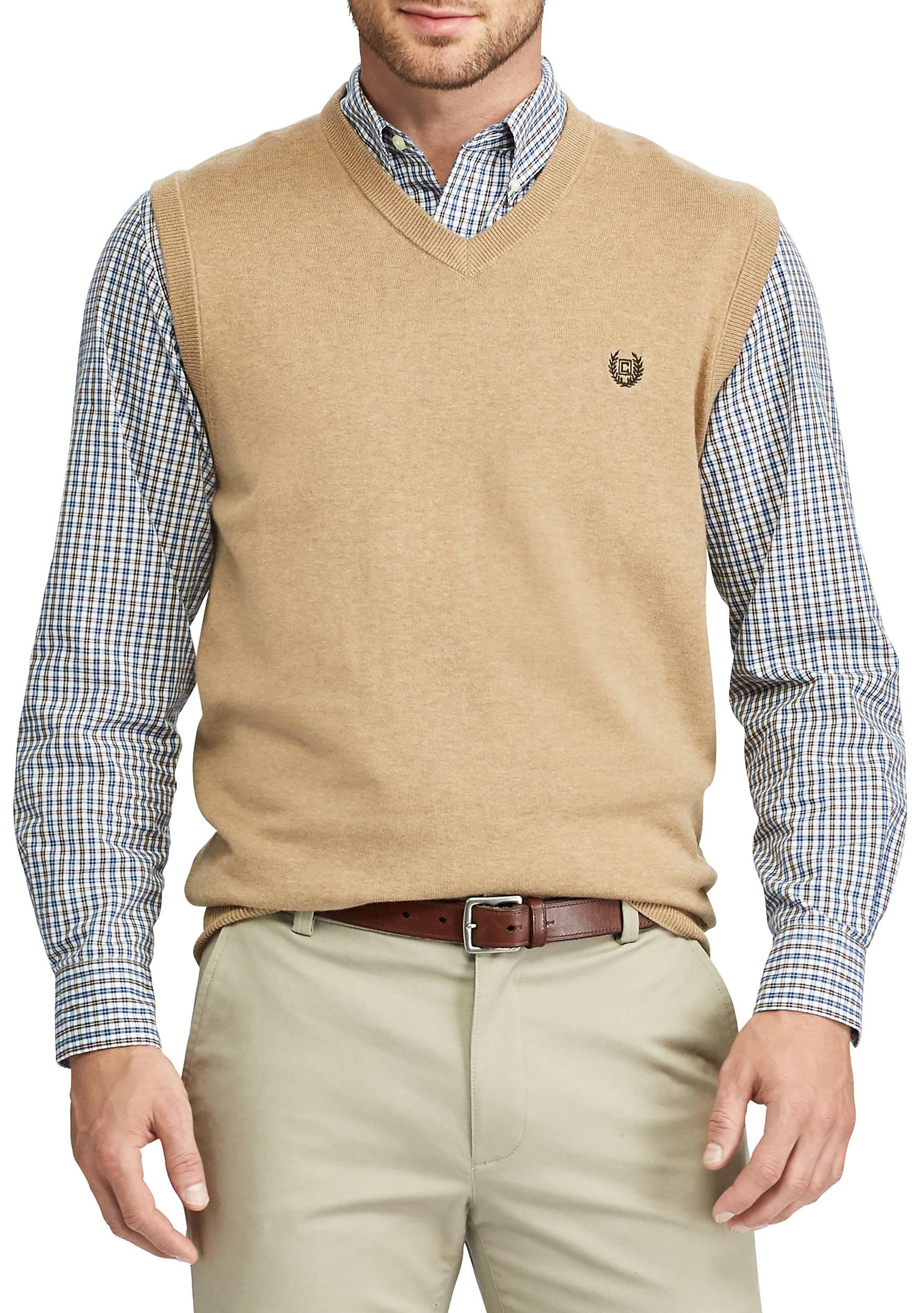 Chaps Solid Sweater Vest | belk