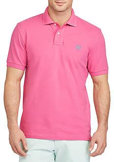 Chaps Short Sleeve Stretch Mesh Polo Shirt