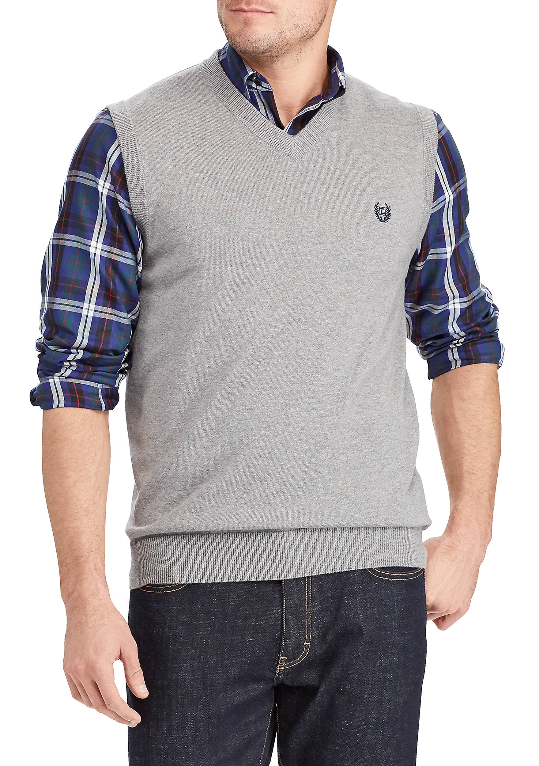 Chaps Cotton Sweater Vest | belk