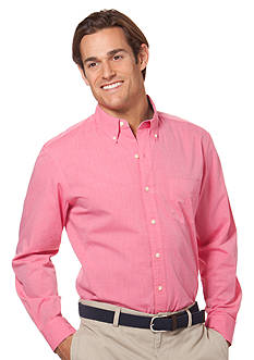 Chaps Big & Tall End-on-End Sport Shirt