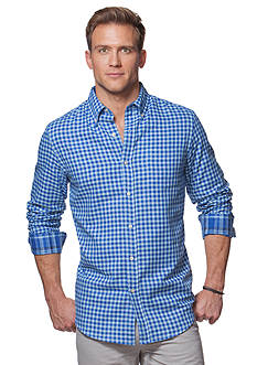 Chaps Big & Tall Double-Faced Cotton Shirt