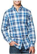 Chaps Big & Tall Double-Faced Plaid Shirt