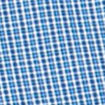 Chaps Big & Tall Sale: Crayon Blue Chaps Big & Tall Mini-Checked Poplin Shirt